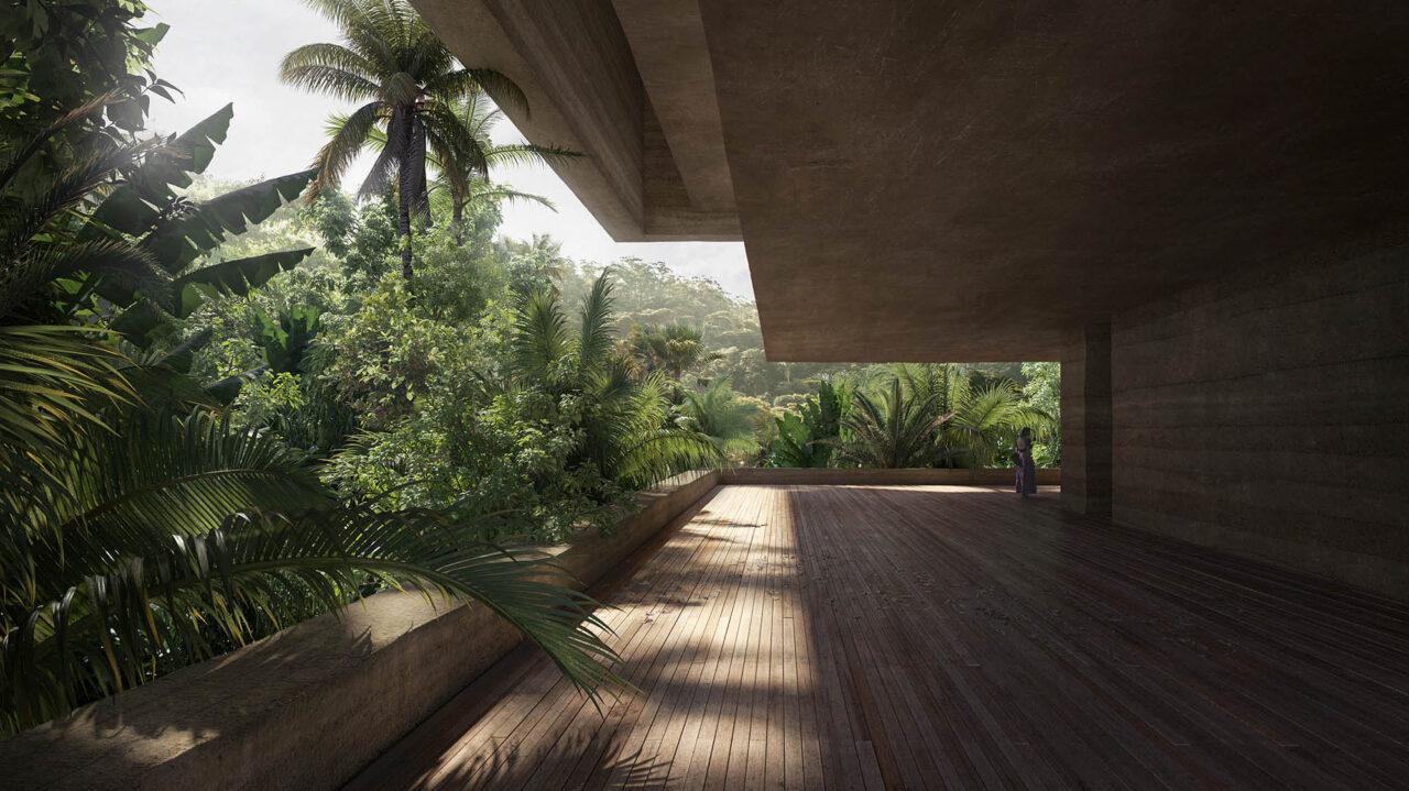 Architecture by Studio Viktor Sørless and Estudio Juiñi , Renderings by bloomimages and bloomrealities